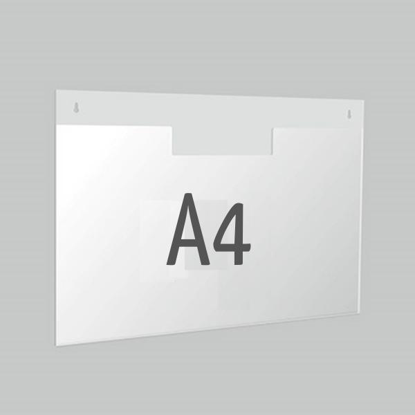 Карман горизонтальный под лист А4