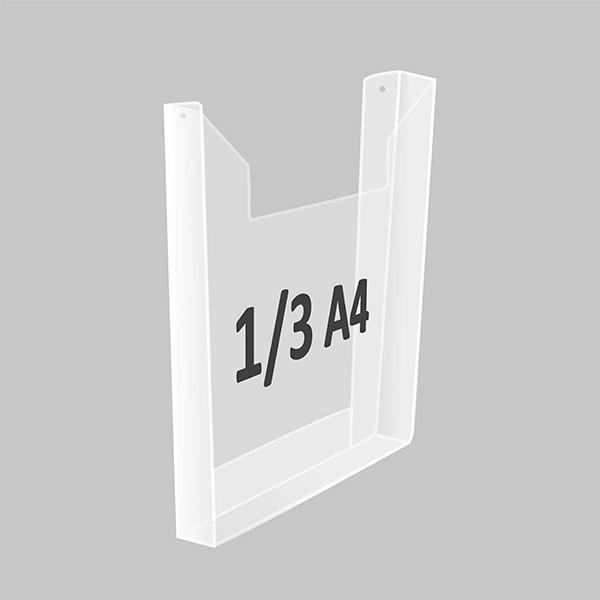 Карман 1/3 А4 объемный Пэт 1 мм
