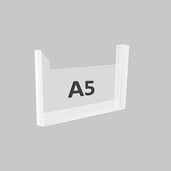 Карман А5 объемный горизонтальный Пэт 1 мм