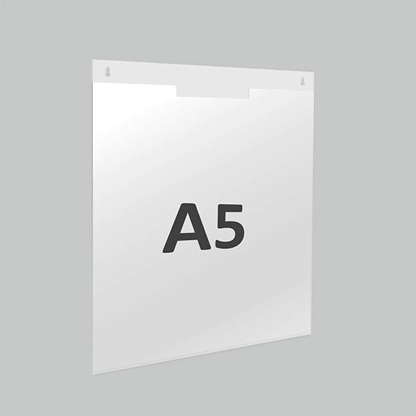 Карман под лист А5 вертикальный