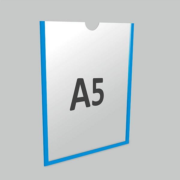 Карман А3 горизонтальный самоклеящийся Пэт 0,3 мм, белый скотч