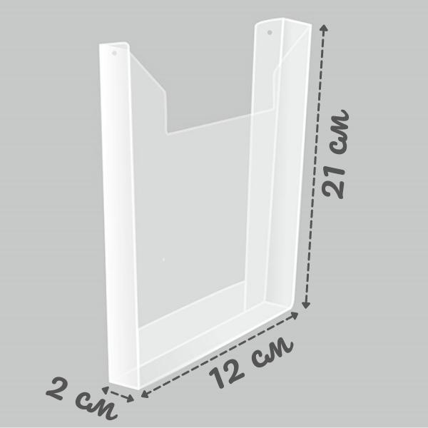 Карман А5 объемный вертикальный Пэт 1 мм