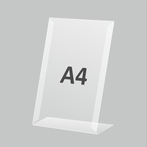 Ценникодержатель А4 вертикальный
