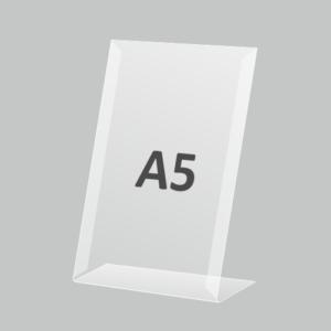 Ценникодержатель А5 вертикальный