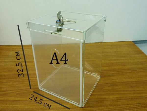 Ящики для пожертвований А4