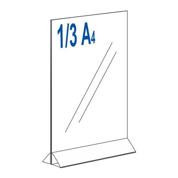 Тейбл тент для 1/3 А4 вертикальный