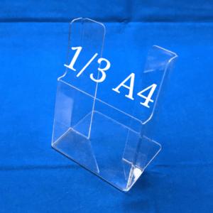 Буклетница настольная на 1 отделение 1/3 А4