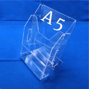 Буклетница настольная на 2 отделения А5
