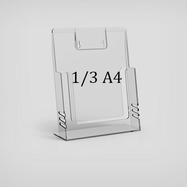 Настольная буклетница 1/3 А4 пластиковая