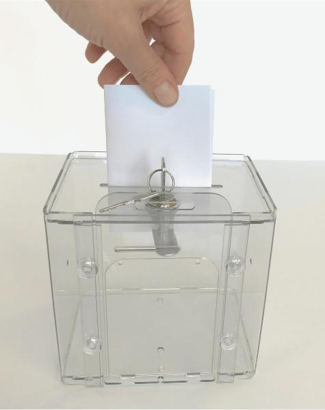 Ящик для голосования 150 х 150 х 150