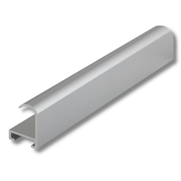 Рамка для постера А4 под серебро