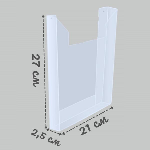Карман А4 толщиной 0,5 мм под пачку листов